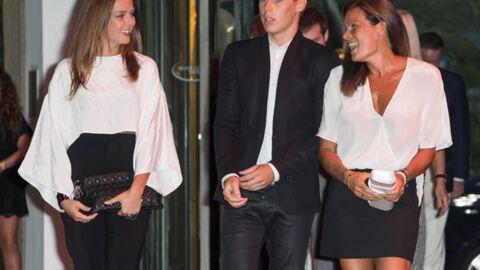 DIAPO Stéphanie de Monaco complice avec ses enfants au gala Fight Aids