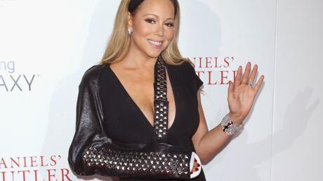 PHOTOS Mariah Carey et sa fabuleuse attelle cloutée