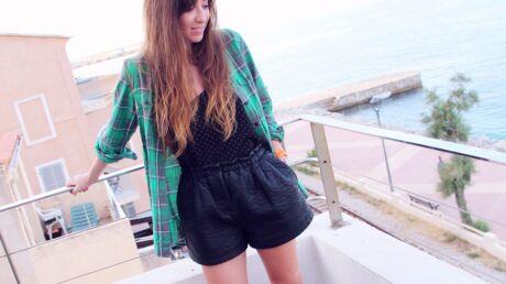 Comment porter le short en cuir en plein été? Les conseils de Marieluvpink