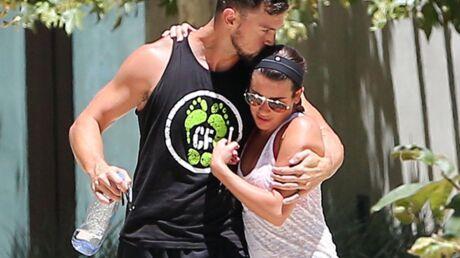 PHOTOS Lea Michele heureuse dans les bras de Matthew Paetz