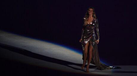PHOTOS Gisele Bündchen a défilé pour la cérémonie d'ouverture des JO de Rio