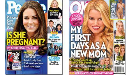 En direct des US: le bonheur de Michelle Williams, la maternité de Jessica Simpson, les déboires des Kardashian
