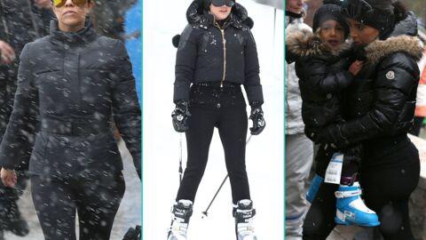 PHOTOS Les Kardashian au ski: Khloé n'arrive pas à fermer son pantalon
