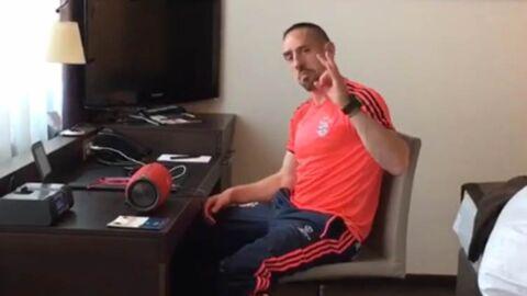 VIDEO Franck Ribéry s'ambiance sur un titre de Maître Gims