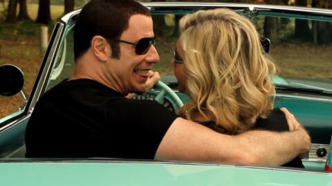 VIDEO John Travolta et Olivia Newton-John en duo dans un clip kitsch