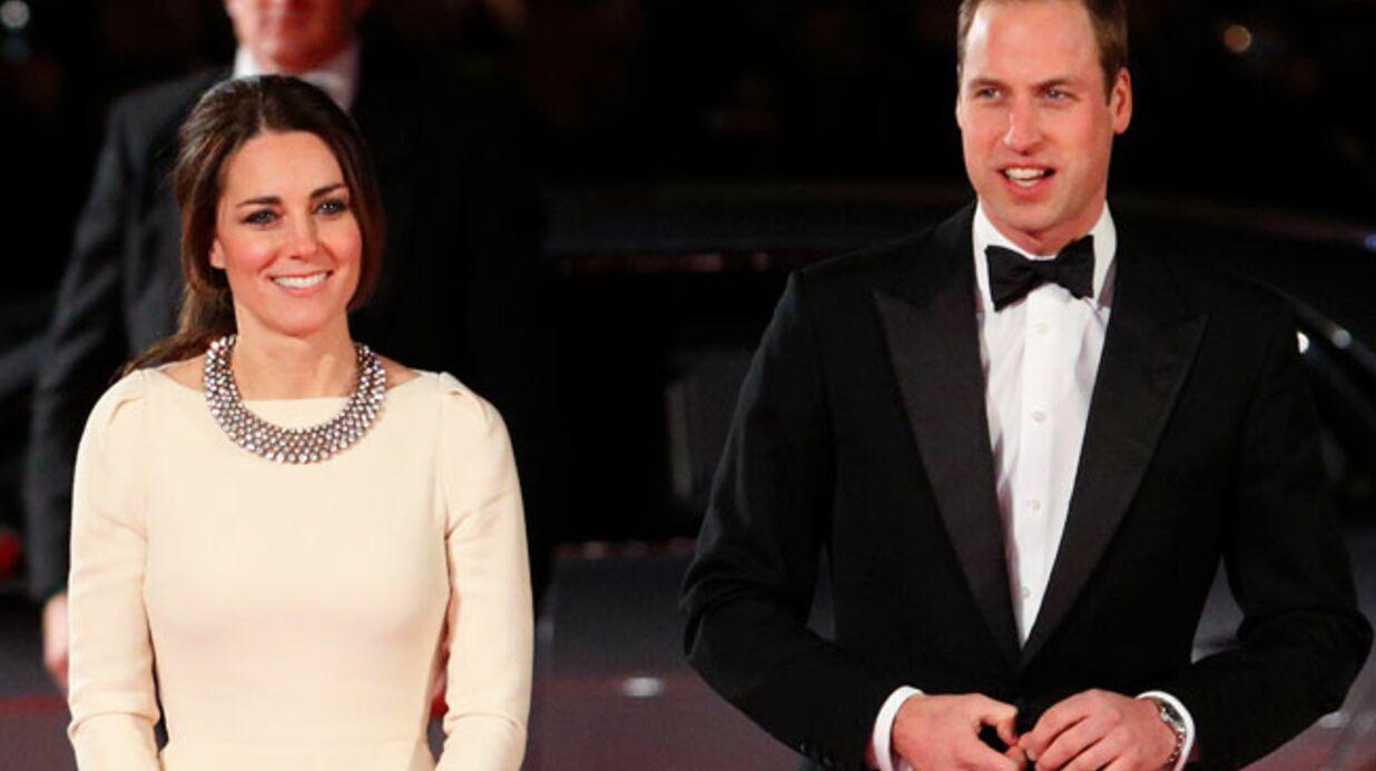Kate et William apprennent la mort de Mandela en pleine projection de son biopic