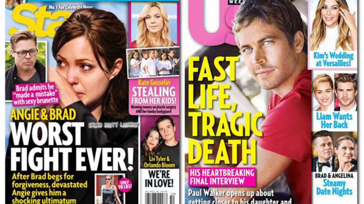 En direct des US: Brad Pitt a trompé Angelina Jolie!