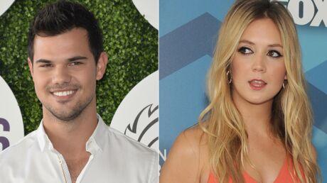 VIDEO Taylor Lautner surpris en train d'embrasser Billie Lourd, sa collègue de Scream Queens