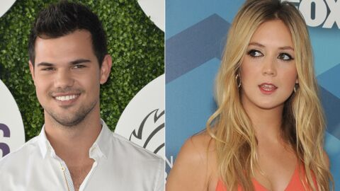 VIDEO Taylor Lautner surpris en train d'embrasser Billie Lourd, sa collègue de Scream Queens