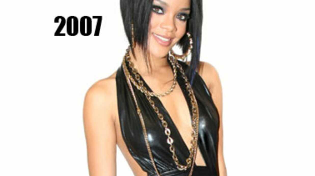 DIAPO Rihanna: de la girl next door à l'icône sexuelle trash