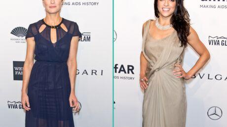 PHOTOS Michelle Rodriguez et Robin Wright entourées d'une armée de top models au gala de l'amfAR