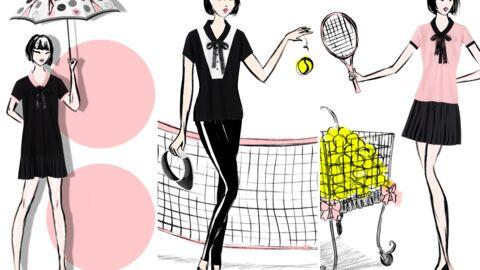 On y était: Chantal Thomass lance sa collection capsule pour Roland Garros