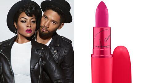 M.A.C. Cosmetics: Taraji P. Henson, la star d'Empire, est la nouvelle égérie Viva Glam