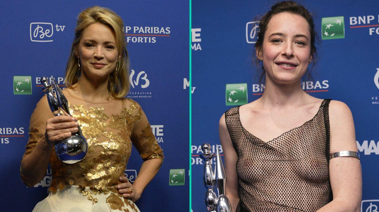 PHOTOS Une actrice arrive seins nus aux Magritte du cinéma, les César belges