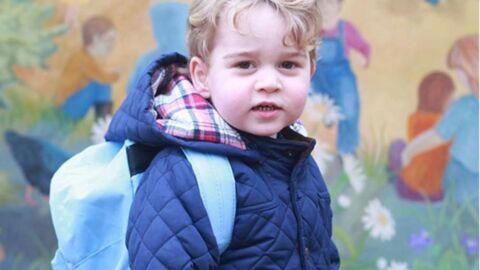 Premier jour d'école pour le prince George! Les photos craquantes