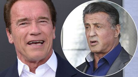 PHOTO Sylvester Stallone a 70 ans: les vœux originaux d'Arnold Schwarzenegger