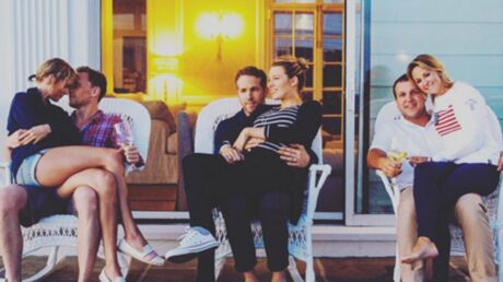 PHOTO Ryan Reynolds: impassible à côté de Taylor Swift et son chéri, il devient la risée d'Internet