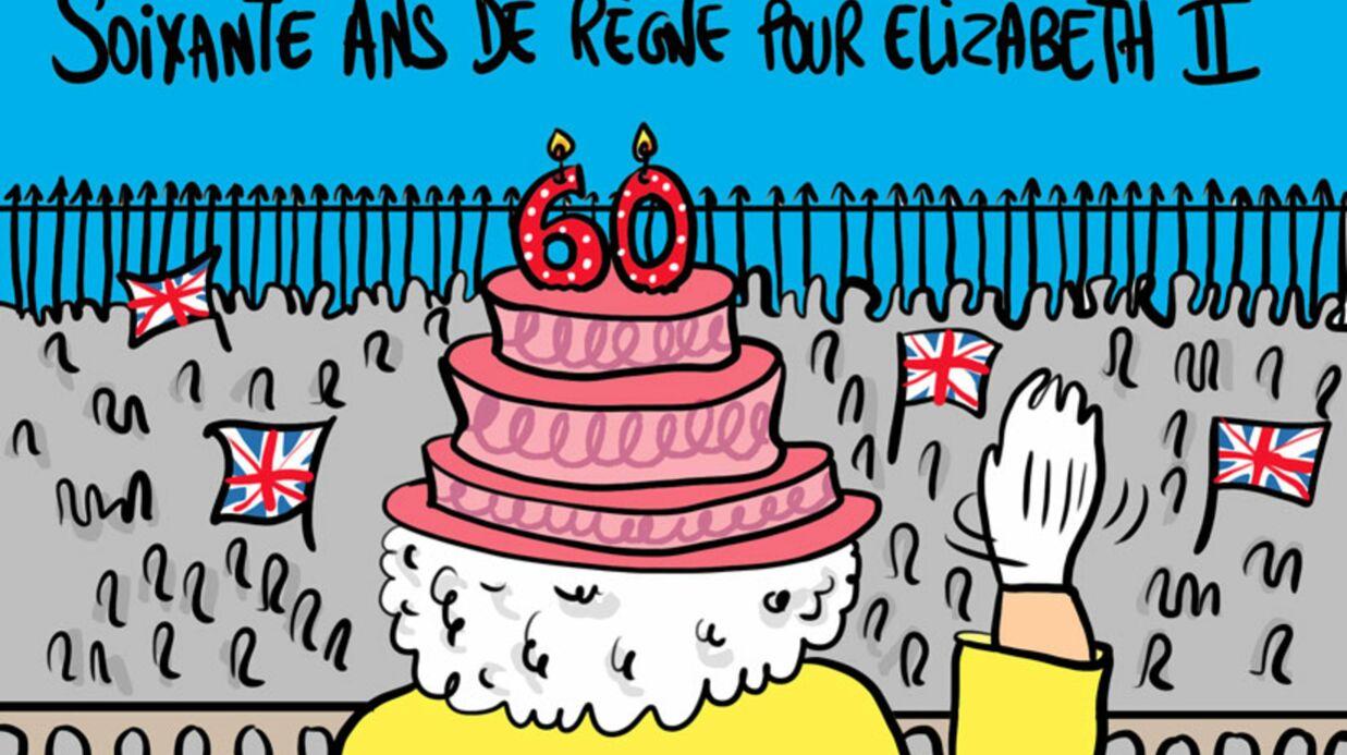 Louison a croqué… Elizabeth II célèbre ses 60 ans de règne