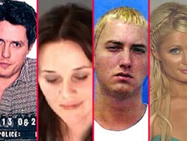 Les plus beaux portraits de stars au poste de police