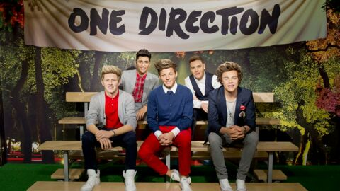 Un préposé mouchoirs au musée Tussaud pour les fans émotives des One Direction
