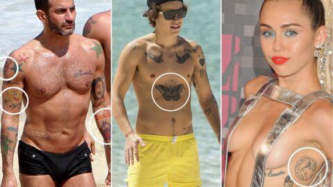 PHOTOS 25 tatouages de stars improbables