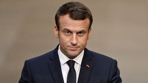 PHOTO Emmanuel Macron transformé en idole pour ados en couverture de l'Express