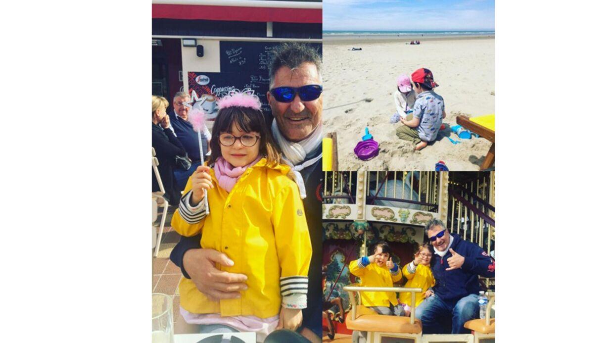 PHOTOS Lola Marois poste de mignons clichés de Jean-Marie Bigard et de leurs enfants à la plage