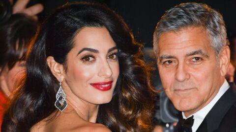 George et Amal Clooney: leurs jumeaux  Ella et Alexander sont nés