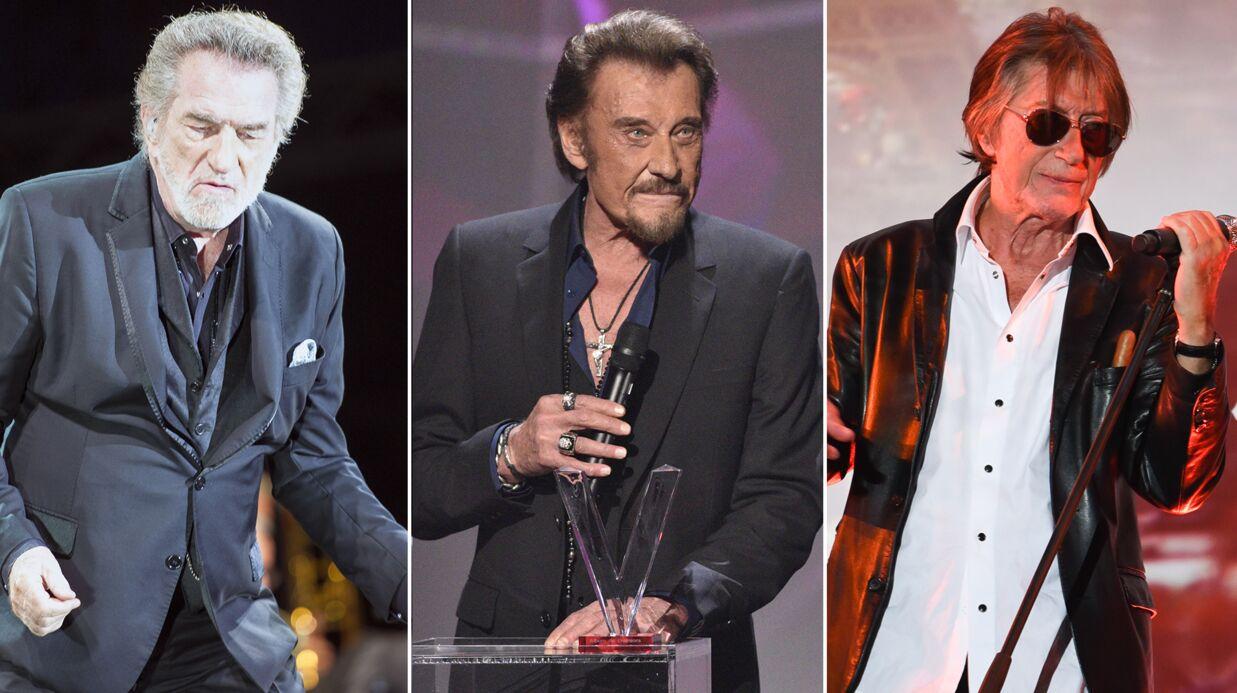 Johnny Hallyday répète avec Eddy Mitchell et Jacques Dutronc: voici les vidéos de leurs retrouvailles