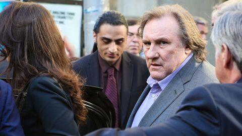 Depardieu insulte un photographe en plein tournage