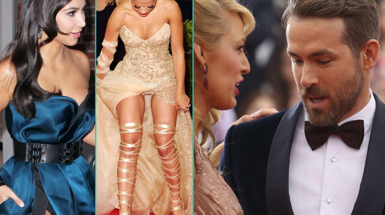 PHOTOS Met Ball: Kim K et Rita Ora en montrent trop, Ryan Reynolds se rince l'œil