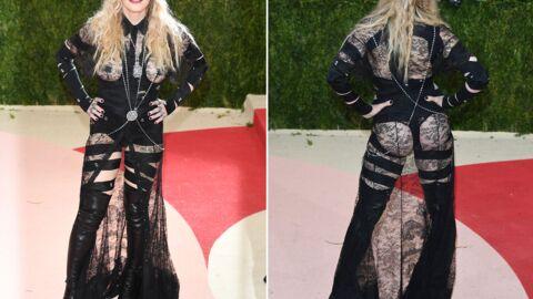 Madonna explique pourquoi elle était à moitié nue au MET: oui, elle avait une raison