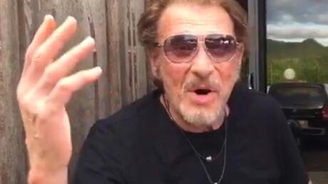 VIDEO Johnny Hallyday s'excuse en chanson auprès de la ville de Maubeuge