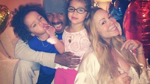 PHOTO Mariah Carey avec son ex Nick Cannon pour un repas en famille
