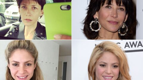 DIAPO Les meilleurs selfies de stars sans maquillage: attention les yeux