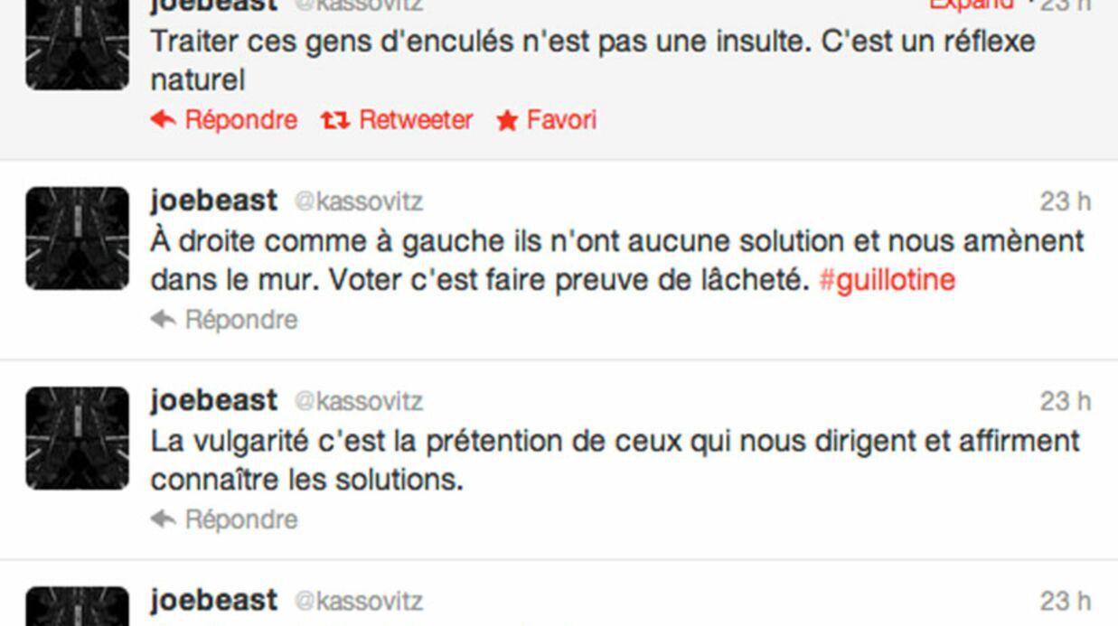 Mathieu Kassovitz s'en prend violemment au gouvernement