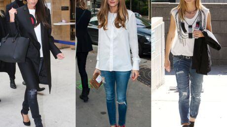 Look Victoria Beckham, Heidi Klum… optent pour le jean déchiré