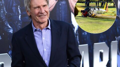 Harrison Ford blessé dans un accident d'avion : les photos du crash