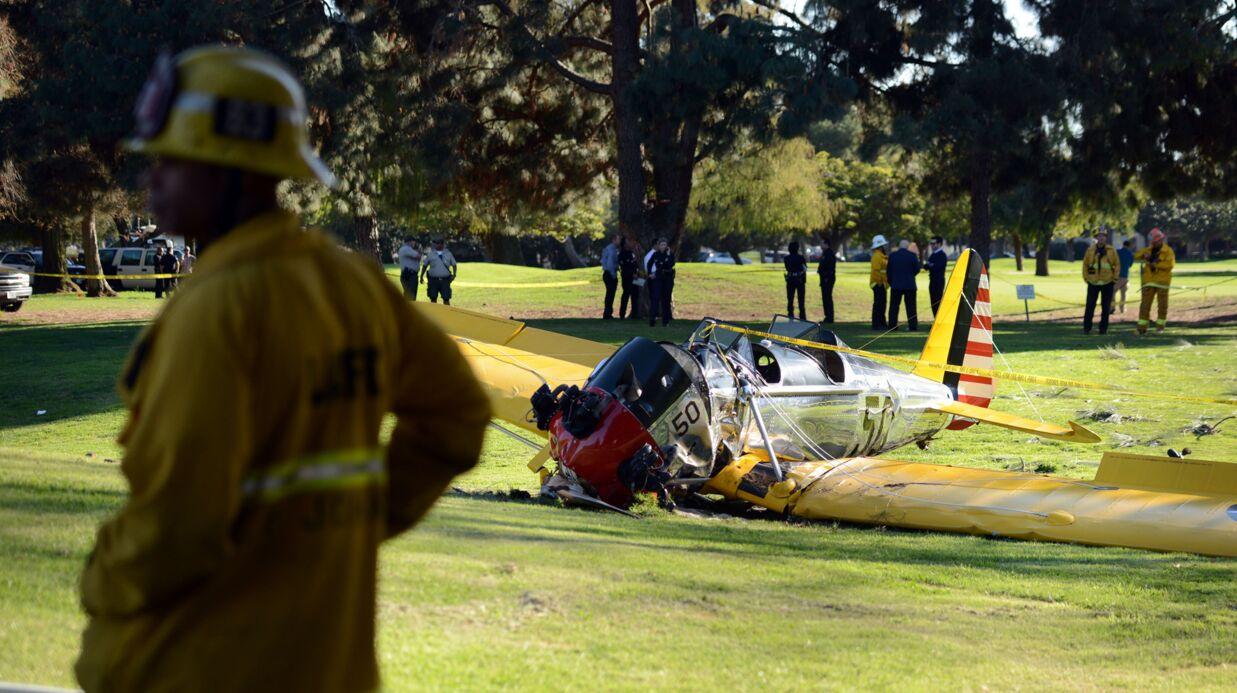 Harrison Ford blessé dans un accident d'avion: les photos du crash