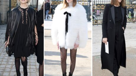 DIAPO Fashion Week: Chiara Ferragni ultra tendance, Dianna Agron et Clotilde Courau chicissimes au défilé Elie Saab