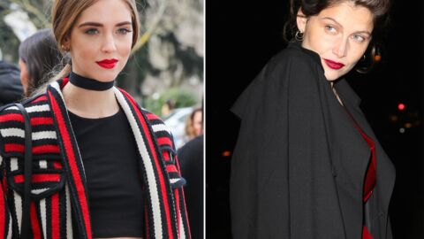 DIAPO Laetitia Casta et Chiara Ferragni embrasent le dernier week-end de la Fashion Week parisienne