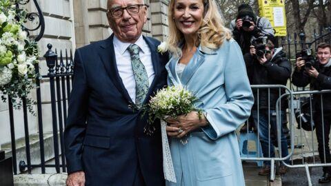 PHOTOS Jerry Hall et Rupert Murdoch se sont dit oui