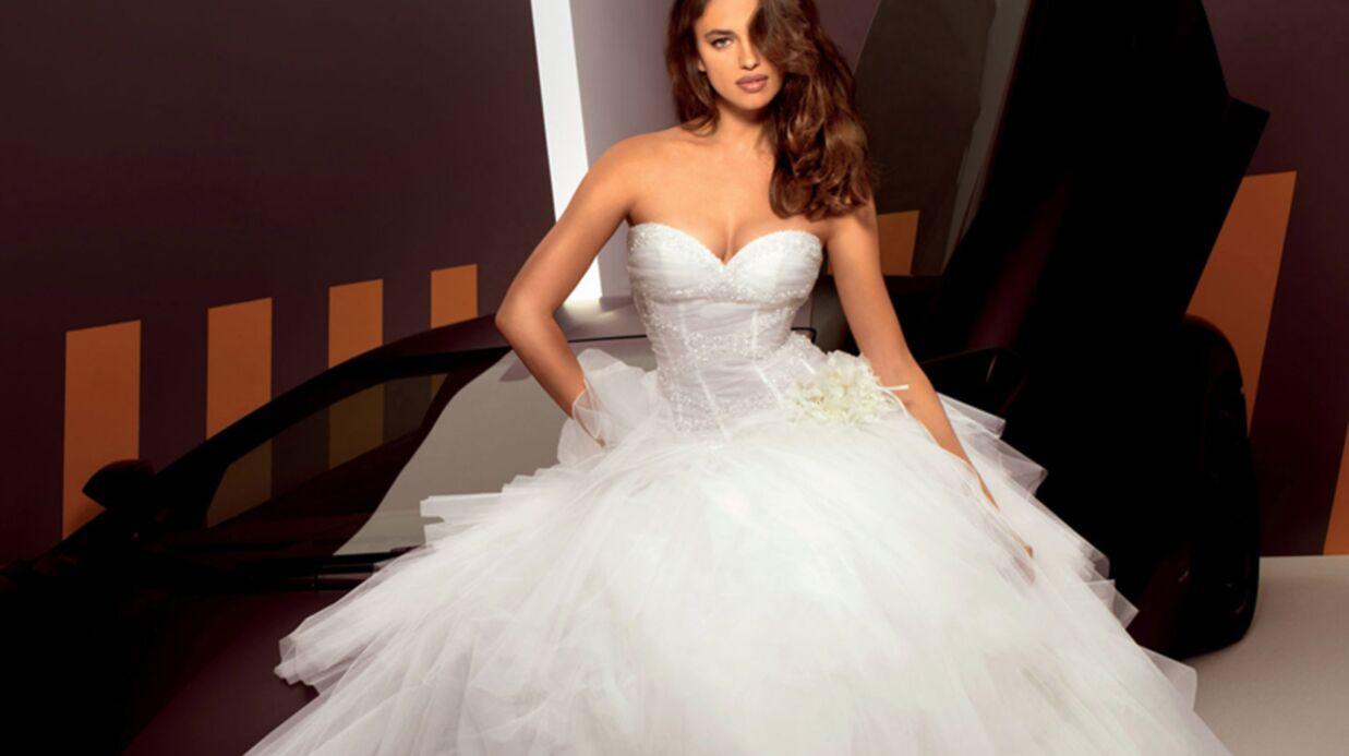 DIAPO Irina Shayk, la compagne de Cristiano Ronaldo, en mariée