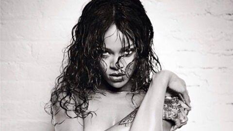Rihanna (presque) nue pour un shooting hot