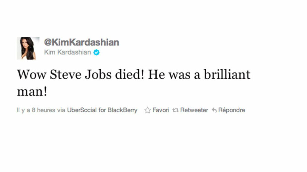 Ces stars qui rendent hommage à Steve Jobs depuis un Blackberry