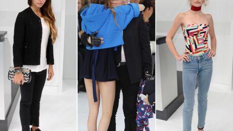 PHOTOS Lily-Rose Depp, Thylane Blondeau, Cara Delevingne: vent de jeunesse chez Chanel