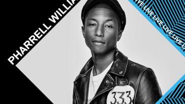 Pharrell à Milan