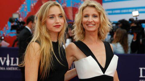 PHOTOS Alexandra Lamy et sa fille ultra glamour à Deauville