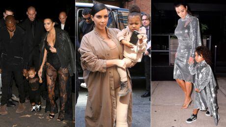 PHOTOS Kim Kardashian assortit les tenues de sa fille aux siennes