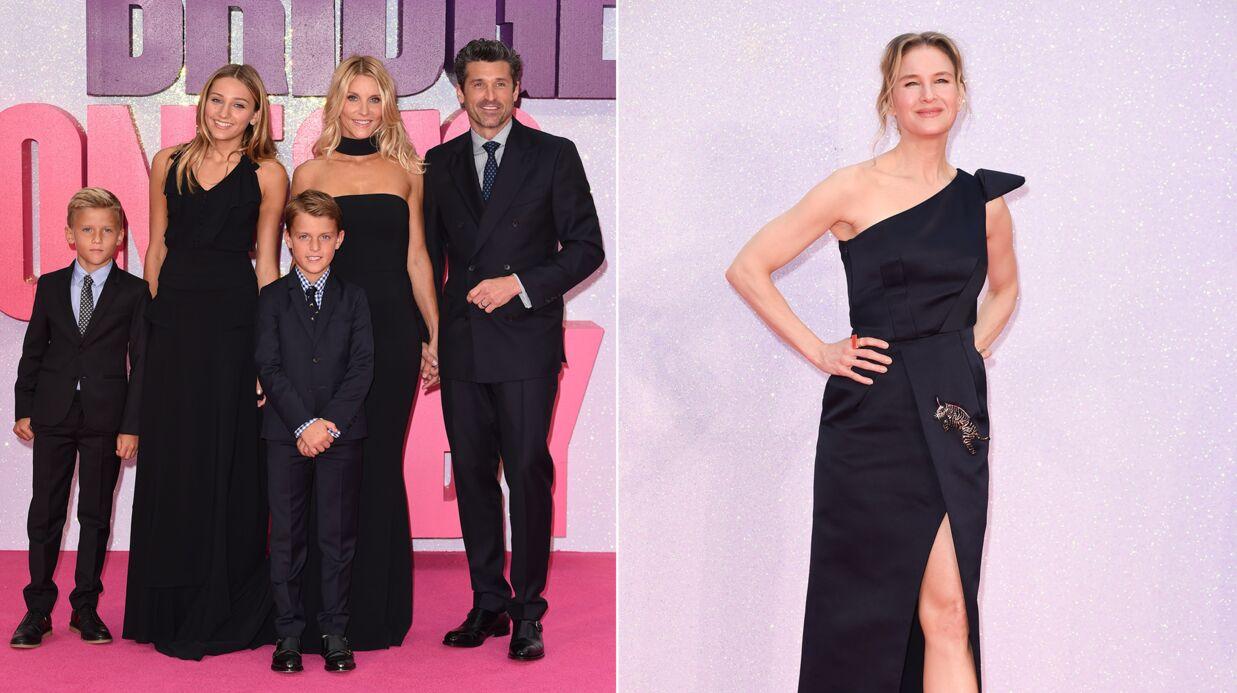 PHOTOS Patrick Dempsey en famille, Renée Zellweger très élégante pour Bridget Jones Baby
